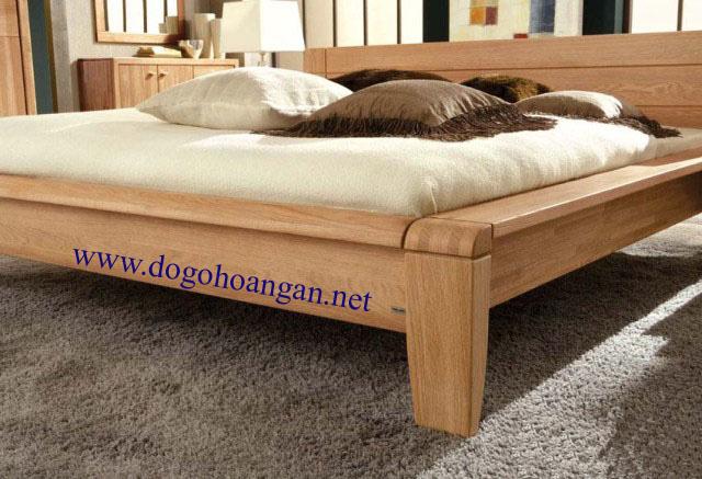 đồ gỗ nội thất,  nội thất gỗ sồi, nội thất phòng ngủ, giường gỗ, noi that go soi, do go noi that, giường gỗ đẹp,