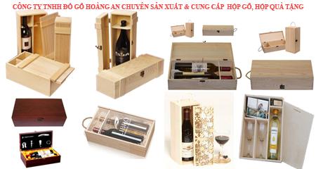 hộp rượu khắc laser